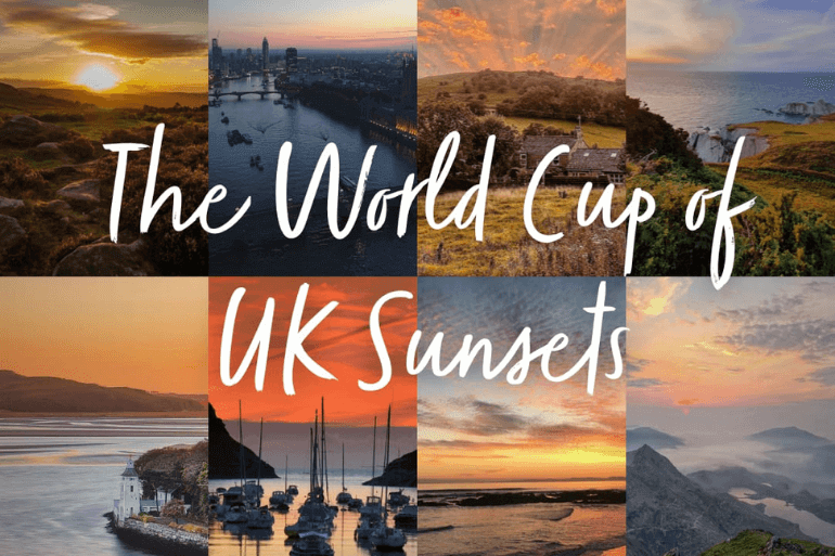 The UK's best sunsets, as voted by you