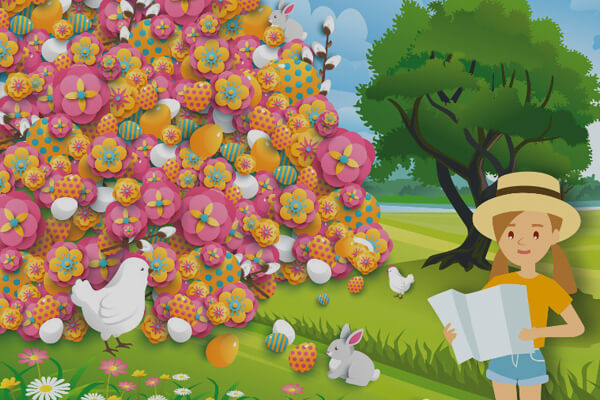 Easter brainteaser: Help Holly Day find the cheeky chick
