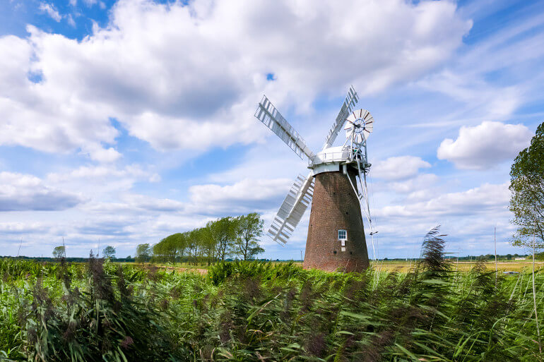 Waterways, windmills and wildlife: Discover the Norfolk Broads