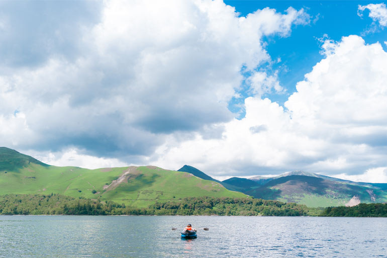 Top spots for kayaking in the Lake District