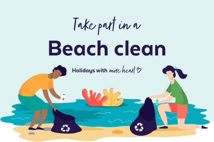7 reasons to take part in a beach clean on holiday