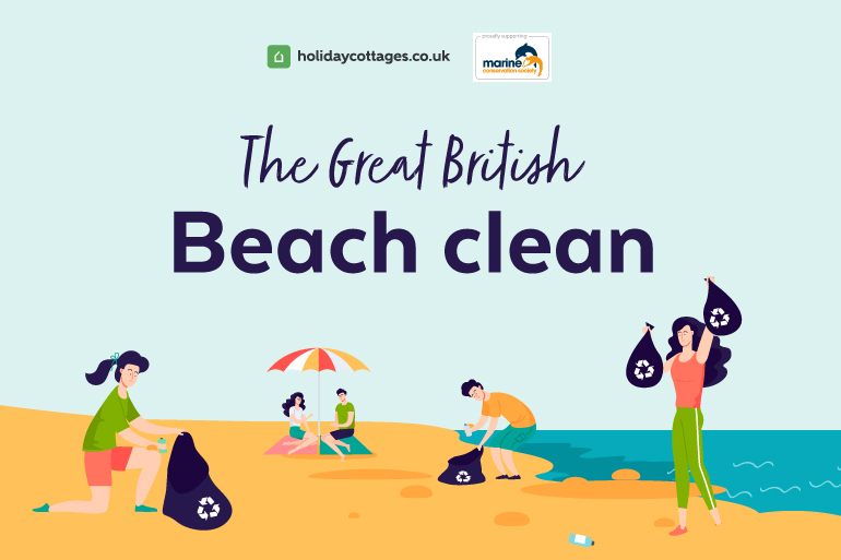 Take part in the Great British Beach Clean
