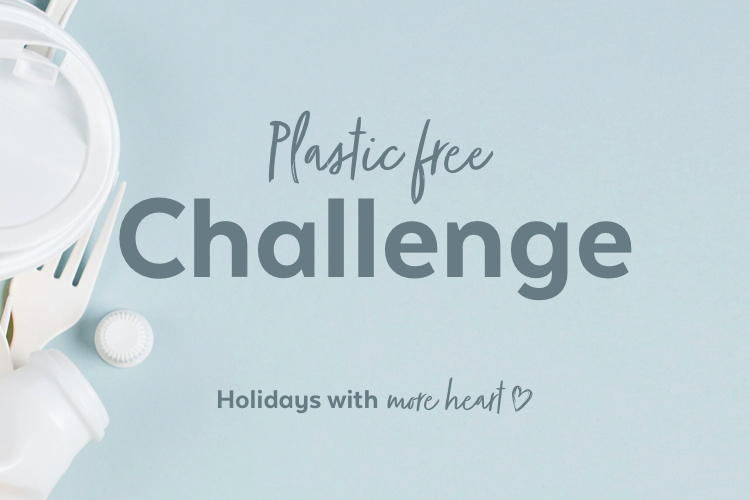 Take the #PlasticChallenge this July