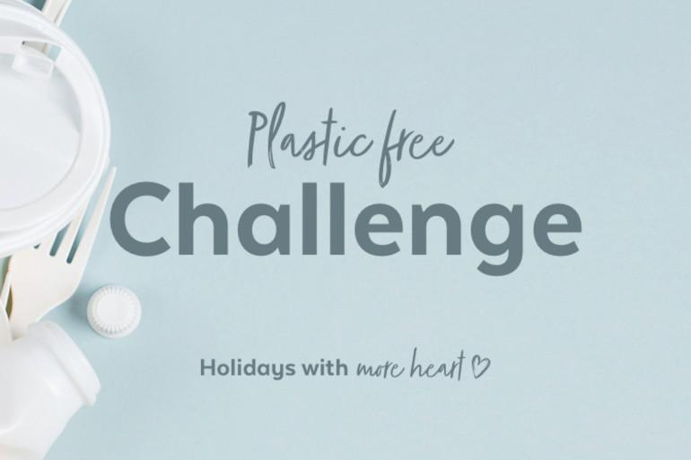 Challenge yourself to go plastic free on holiday