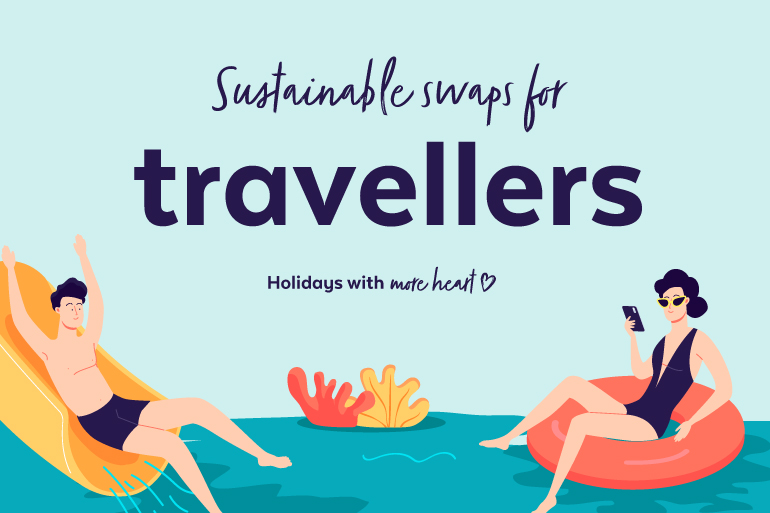 Sustainable swaps for travellers