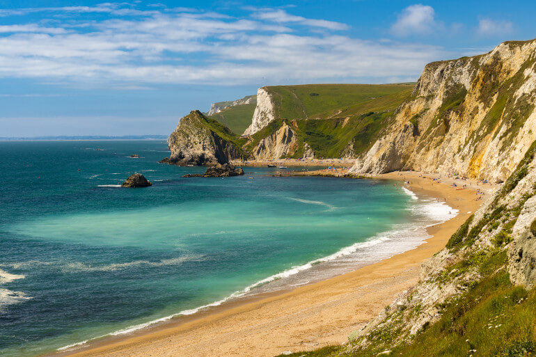 The most beautiful beaches in Dorset