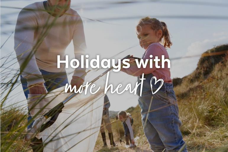 Holidays with more heart