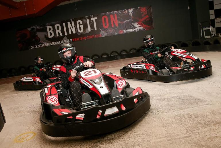 Electric TeamSport Indoor Go Karting in Hampshire