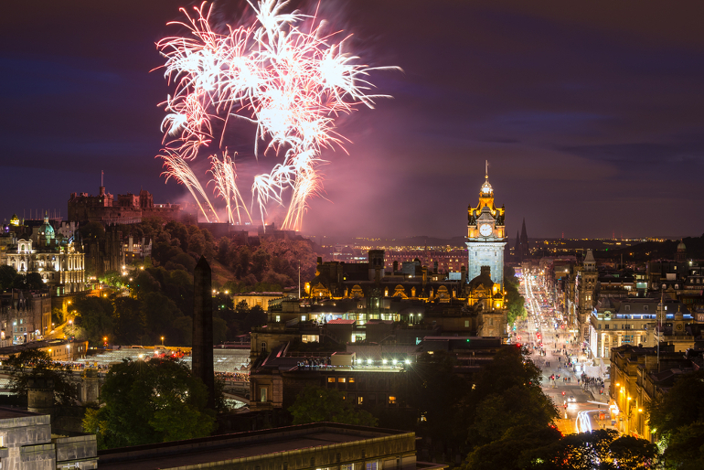 Celebrate New Year with Hogmanay in Scotland