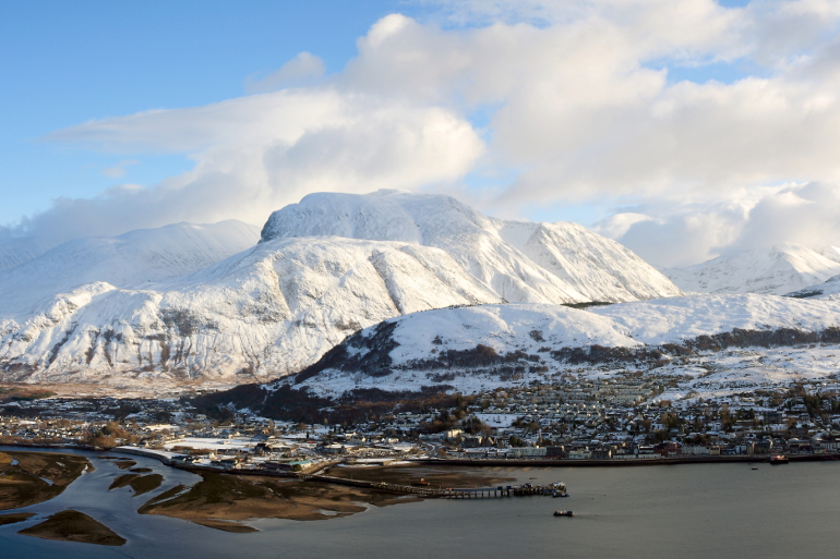 Fort William in winter