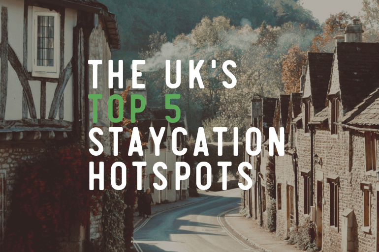 The UK rediscovered: the top staycation spots of 2020