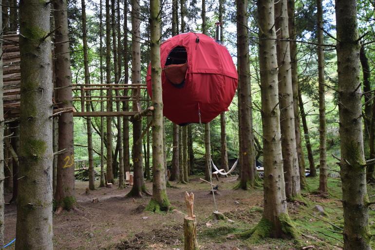 Introducing the Wy y Ddraig Tree Tent!