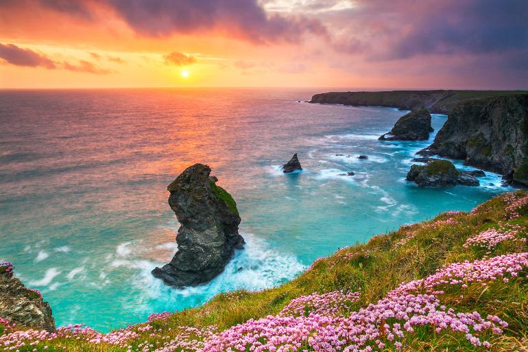 Honeymoon in Cornwall