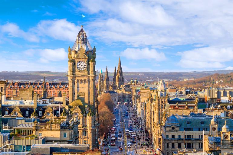 Honeymoon in Edinburgh