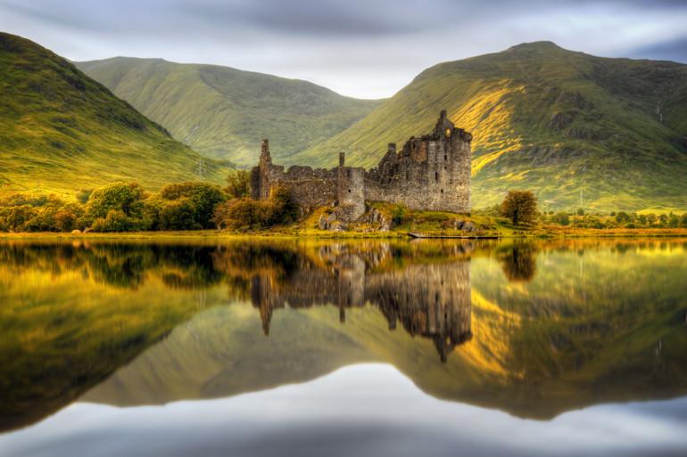Honeymoon in the Scottish Highlands
