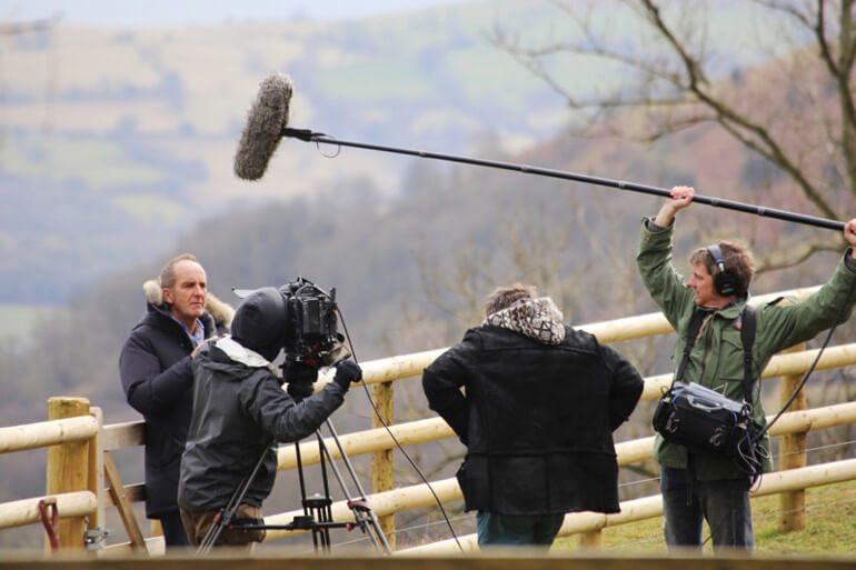 Grand Designs filming at Points Cottage