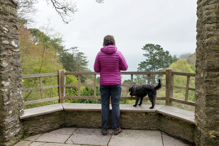National Trust Coleton Fishacre in Devon
