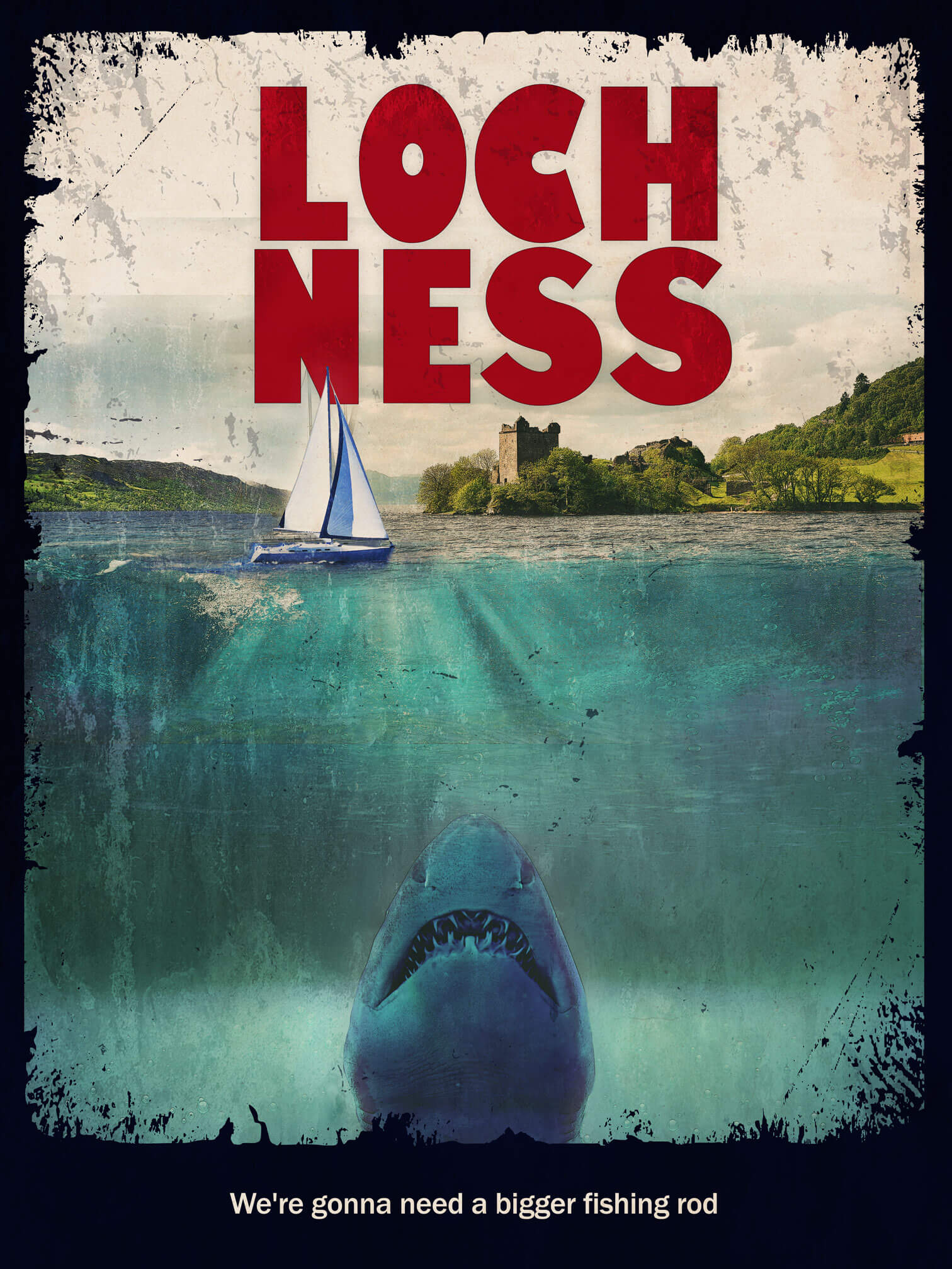 Jaws at Loch Ness