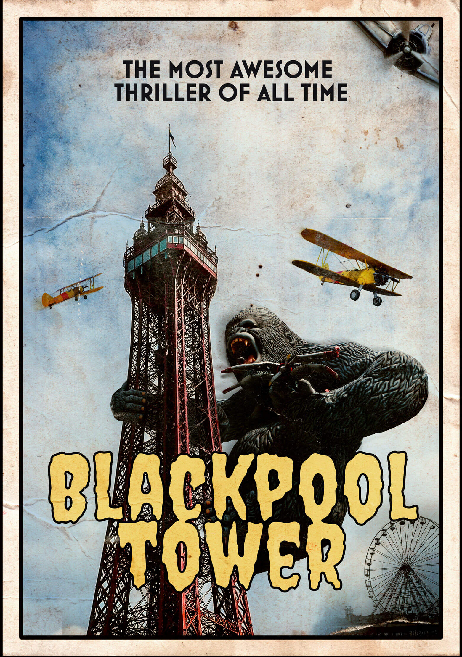 King Kong at Blackpool Tower