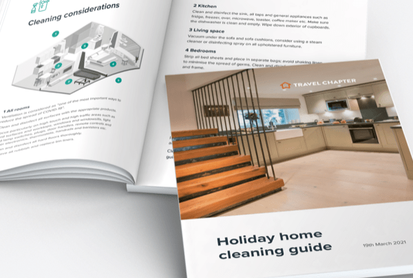 Request a holiday home cleaning guide