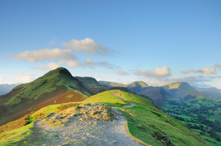 Top views in the hills and dales of the Peak District