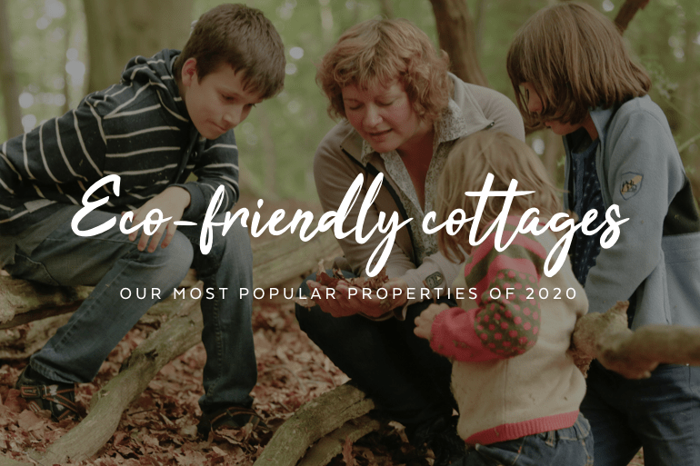 Our top eco-friendly cottages of 2020