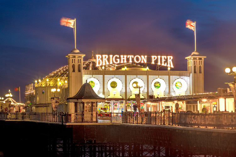 Brighton Pier seaside amusements