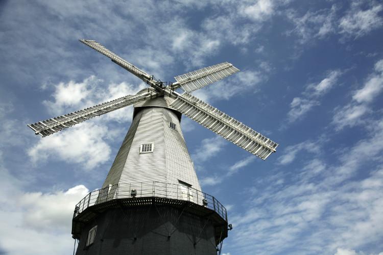 Union Mill working windmill in Cranbrook, Kent