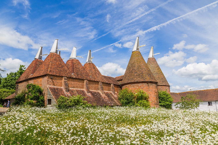 Gorgeous oast houses in Kent and Sussex