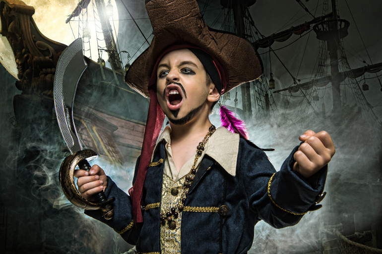 Become a pirate for the day
