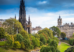 Edinburgh and the Lothians holidays