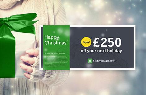 Buy Christmas gift vouchers