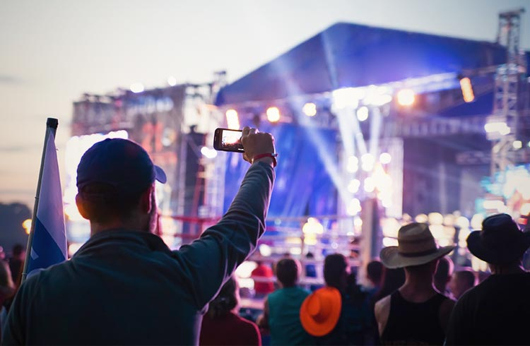 Festival photography top tips