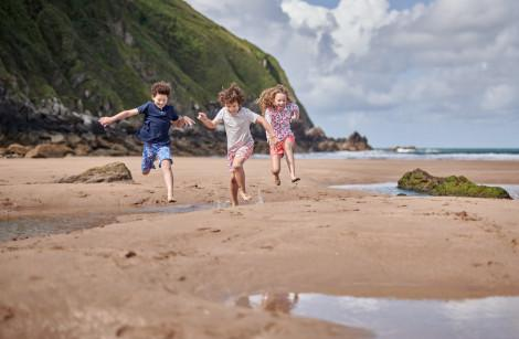 Top 10 family beaches in the UK