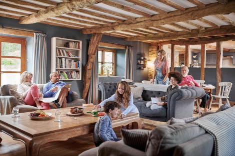 Luxury cottages for the family