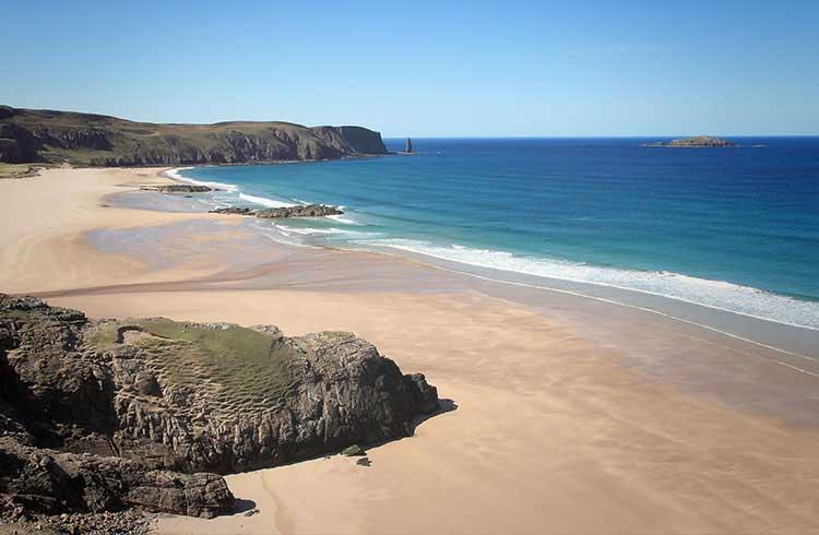 Secluded UK beaches