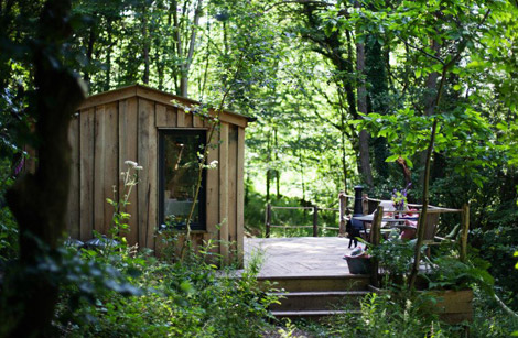 Forest holidays across the UK