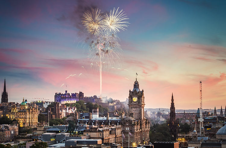New Year in Scotland