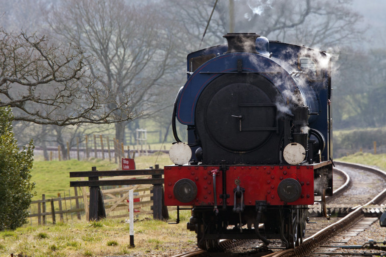 Hop aboard a vintage locomotive