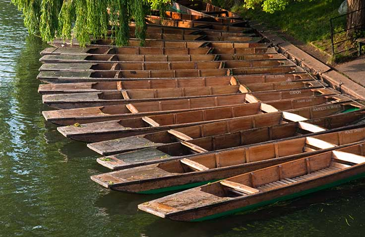 Punting stock photo. Image of punt, activities, punting