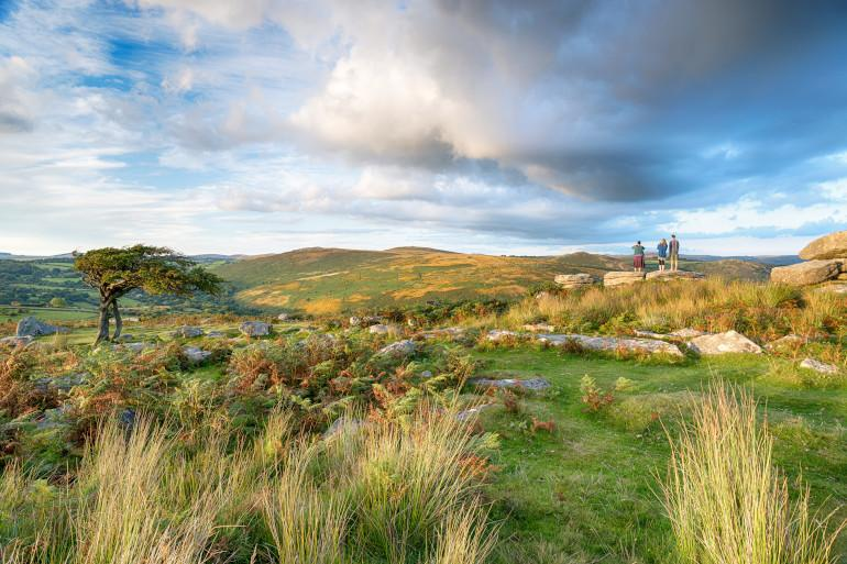Windswept and beautiful Dartmoor