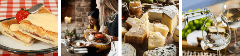 Food and drink in the Peak District