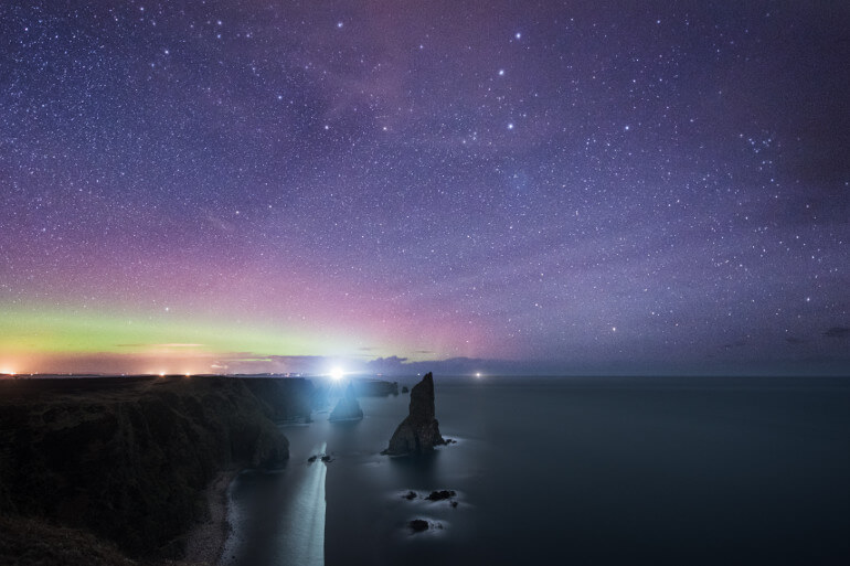 Northern Lights in Caithness