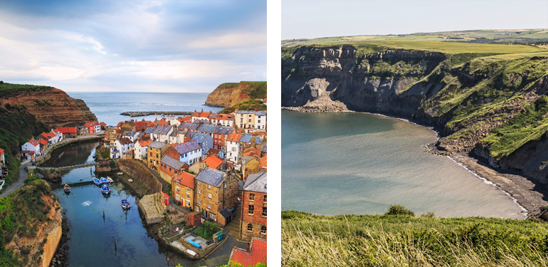 Staithes and Port Mulgrave