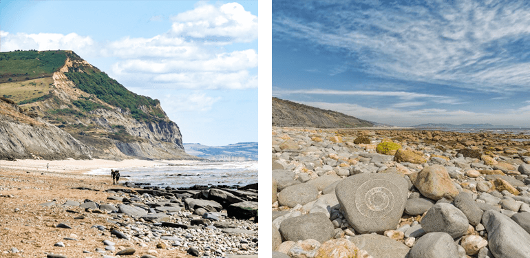 Chideock to Charmouth