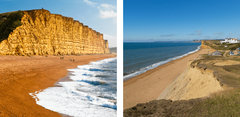 West Bay to Burton Bradstock