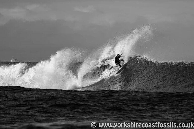 Staithes surfing