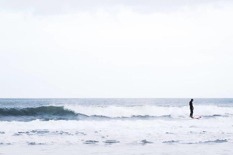 Cayton Bay surf