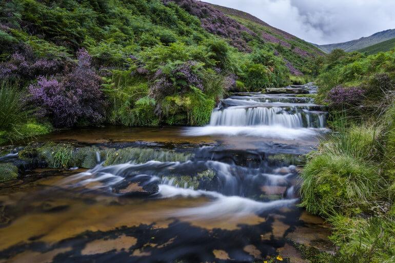 Peak waterfalls