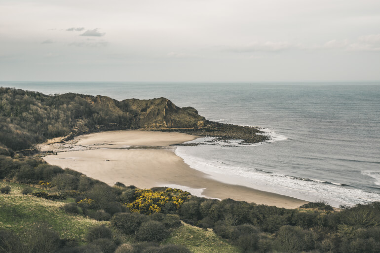 Cayton Bay - Best dog-friendly Yorkshire beaches